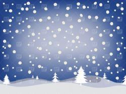Snow clipart snowfall