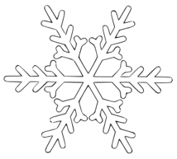 Whit clipart snowflake