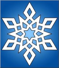 Snowflake clipart complex
