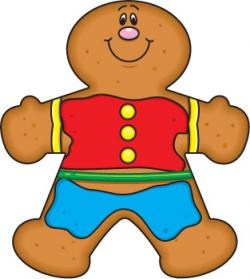 Gingerbread clipart snowman