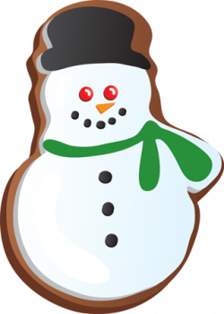 Baking clipart christmas cookie