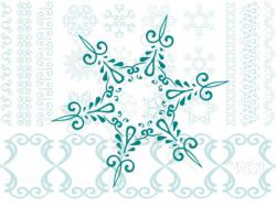 Snowflake clipart snow crystal