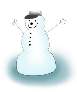 Upside Down clipart funny snowman