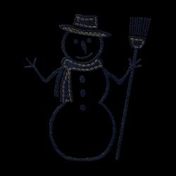 Snowman clipart high resolution