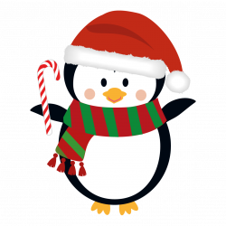 Merry Christmas clipart penguin