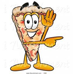 Pizza clipart smile