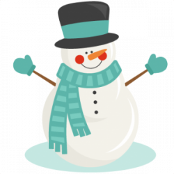 Snowman clipart transparent background