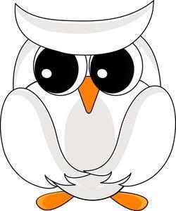 Hoot clipart snow owl