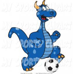 Dragon clipart dragon mascot