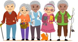 Philipines clipart senior citizen