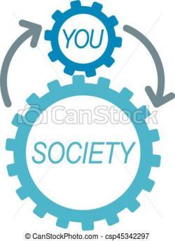 Society clipart social interaction