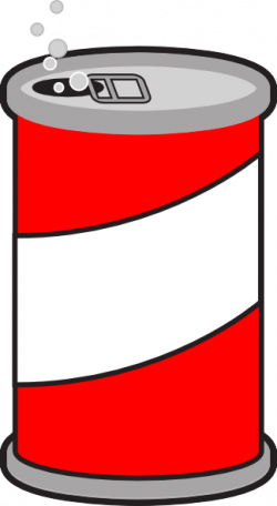 Trash clipart soda can