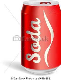 Coca Cola clipart aluminium