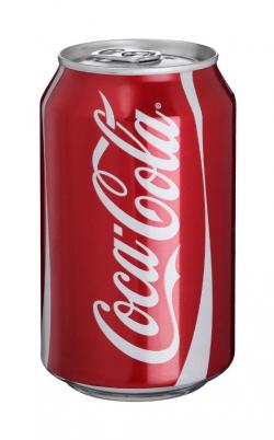 Coca Cola clipart aluminum can