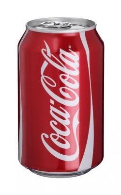 Coca Cola clipart aluminum can
