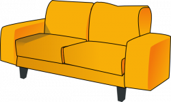 Lounge clipart couch