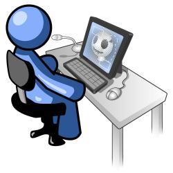 Technology clipart computer training
