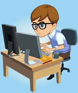 Coding clipart computer programming