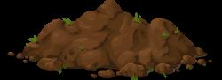 Soil clipart mud pile