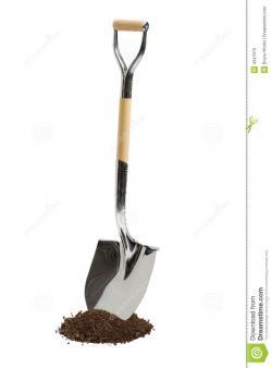 Soil clipart shovel dirt