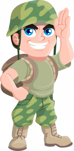 Soldiers clipart cartoon
