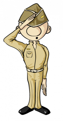 Military clipart ww1 soldier