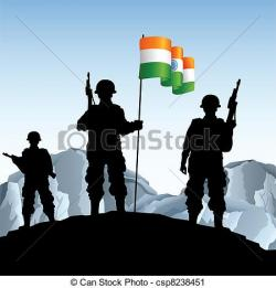 Soldiers clipart armed force