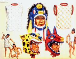 Aztec Warrior clipart ancient