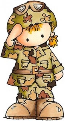 Soldiers clipart cute