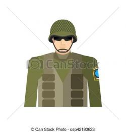 Soldier clipart jacket