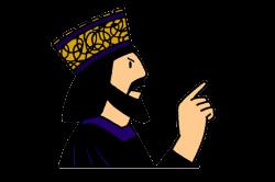 Wisdom clipart king saul