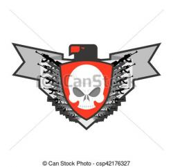 Soldiers clipart military emblem