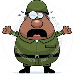 Soldiers clipart sad