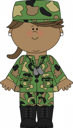 Soldier clipart sold
