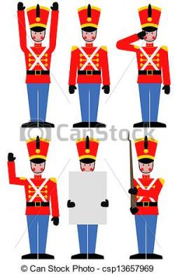 Soldiers clipart tin soldier