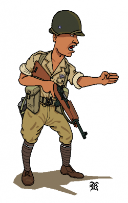 Soldier clipart wwii