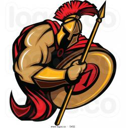 Warrior clipart warrior shield