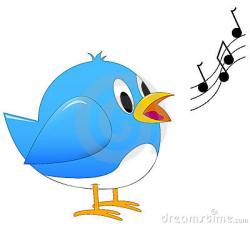 Bluebird clipart birds chirping