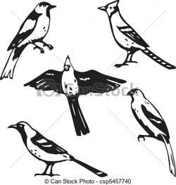 Songbird clipart