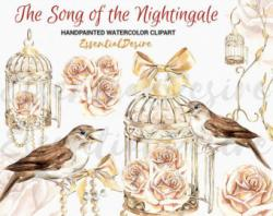 Finch clipart wedding bird