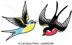 Songbird clipart vector