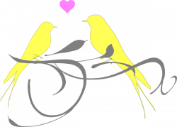 Finch clipart love bird