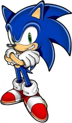 Sonic The Hedgehog clipart blue blur