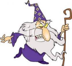 Sorceress clipart wizard