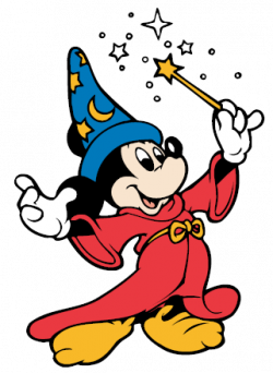 Mickey Mouse clipart magic