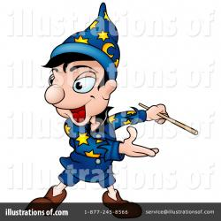 Sorcerer clipart cartoon person