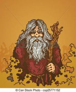 Sorcerer clipart old
