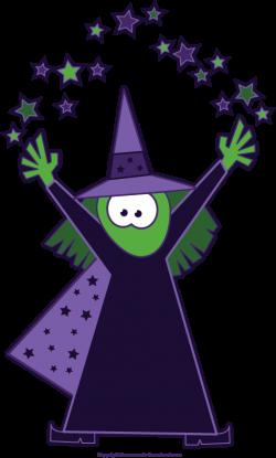 Magician clipart halloween