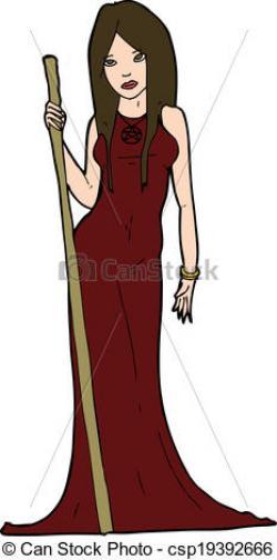 Sorceress clipart sorceress