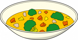 Vegetables clipart vegetable soup
